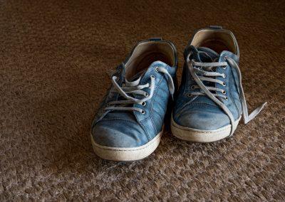 moi, mes souliers ...