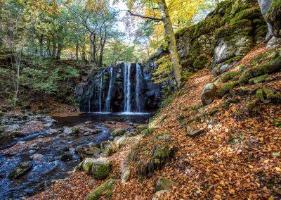 Cascade de Lacessat - Trans-Aubrac