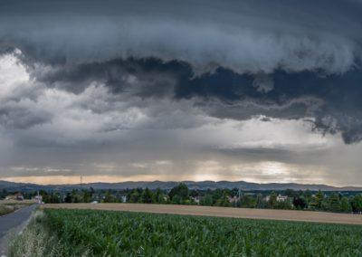 orage sur le Lyonnais - 28 Juin 2017