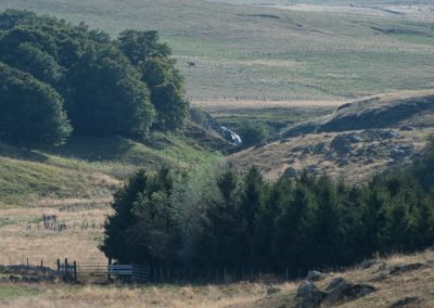 Cascade du Trapet vue de la d52 - Sep 2018